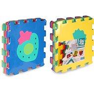 Puzzle pěnové 6 ks - ovoce a zelenina  - Pěnové puzzle