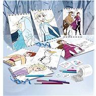Lisciani psací stůl Frozen - Dětský stůl