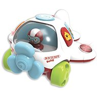 Letadlo s melodií 21 x 21 x 12 cm - Interaktivní hračka