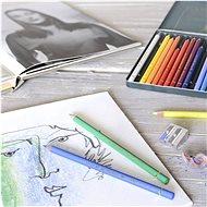Pastelky Faber-Castell Polychromos v plechové krabičce, 24 barev - Pastelky