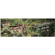 Czech Deluxe XL Stříbro stírací mapa Česka 90x60cm CZ - Mapa