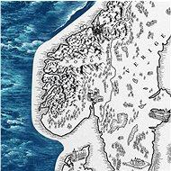 Europe Silver stírací mapa Evropa 66x90cm - Mapa
