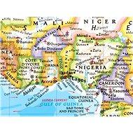 Svět politický XXL Classic 194x278cm, lamino tapeta nástěnná mapa EN - Mapa