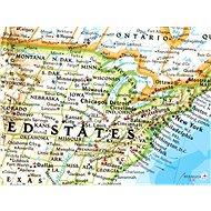 Svět politický Classic 122x176cm, lamino plastové lišty nástěnná mapa - Mapa