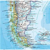 Jižní Amerika politická Classic Medium 118x91cm lamino, lišty nástěnná mapa - Mapa