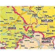 Česká republika administrativní 140x200cm lamino, lišty nástěnná mapa - Mapa