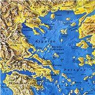 Evropa panoramatická 108x150cm lamino, lišty nástěnná mapa - Mapa