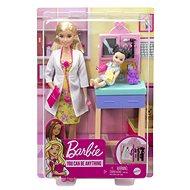 Barbie Povolání dětská doktorka blondýna - Panenky