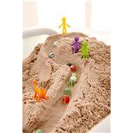 Kinetic Sand 2,5Kg Hnědého Tekutého Písku - Kinetický písek