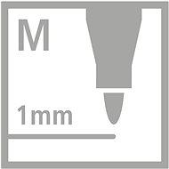STABILO Pen 68 15 ks kovové pouzdro - Fixy