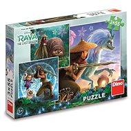 Raya a kamarádi 3x55 Puzzle - Puzzle