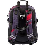 BAAGL Školní batoh Core Láva - Školní batoh