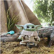 Star Wars Baby Yoda plyšová mluvící figurka 19 cm - Figurka