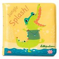 Lilliputiens -krokodýl Anatole - kouzelná knížka do vody - Hračka do vody