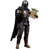 Star Wars sběratelká figurka Mandalorian a Baby Yoda - Figurka