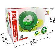 Hape Tahačka želvička - Dřevěná hračka