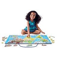 Woody Svět v obrázcích, 2 v 1, Hraj si a uč se - Vkládačka