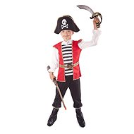 Kostým Pirát s kloboukem vel. M - Dětský kostým
