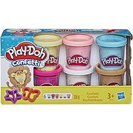 Play-Doh Sada s konfetami 6ks - Kreativní hračka