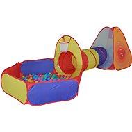 Stan s tunelem a míčky - Dětský stan