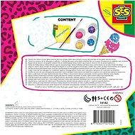 SES Módní tetování s třpytkami - Kreativní sada
