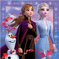 Ravensburgser 050116 Disney Ledové království 2 3x49 dílků - Puzzle