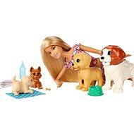Barbie Péče o štěňátka - Panenka