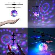 Diskokoule s LED osvětlením - Vrtulník na dálkové ovládání