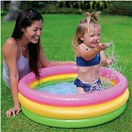 Intex Bazének dětský tříbarevný 86x25 cm - Nafukovací bazén