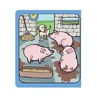 Kouzelné čtení - Zvířátka na statku - Kniha pro děti