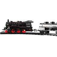 Vlak + 3 vagóny s kolejemi 24 ks - Vláčkodráha