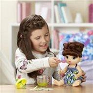 Baby Alive Tmavovlasá panenka s mixérem - Panenka