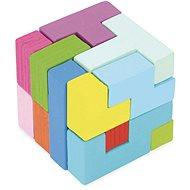 Vilac 3D tangram barevný - Hlavolam