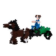 Plus-Plus Basic 360 Povoz s koňmi - Stavebnice