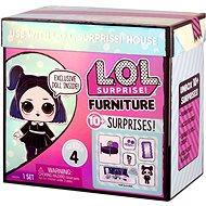 L.O.L. Surprise! Nábytek s panenkou - Útulný pokojíček & Dusk - Panenka