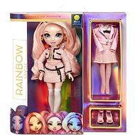 Rainbow High Fashion panenka - Bella Parker (růžová) - Panenka