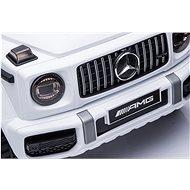 Mercedes G63 AMG bílá - Dětské elektrické auto