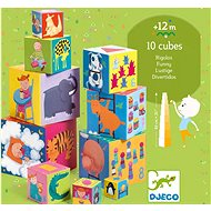Krabičková věž VESELÁ - Obrázkové kostky