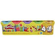 Play-Doh Stříbrné/Zlaté balení 5ks - Kreativní sada