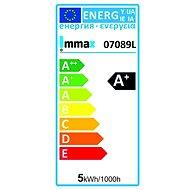 Immax Neo 07089BD, E27, 5W, studená bílá, 2ks + ovladač, Zigbee 3.0 - LED žárovka