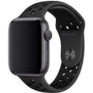 Apple Watch 44mm Antracitový/černý Nike Sport Band – S/M & M/L - Řemínek