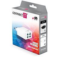 CONNECT IT Fast Charge CWC-4010-WH bílá - Nabíječka do sítě