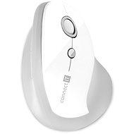 CONNECT IT Vertical Ergonomic Wireless bílá - Myš