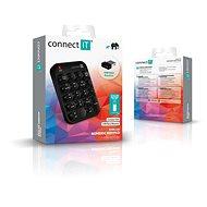 CONNECT IT NumCALC CKB-0071-BK, černá - Numerická klávesnice