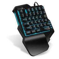 CONNECT IT BATTLE RNBW Single Hand - Herní klávesnice