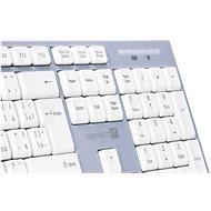 CONNECT IT CKM-7510-CS White - CZ/SK - Set klávesnice a myši