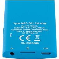 Hyundai MPC 501 FM 4GB modrý - MP4 přehrávač