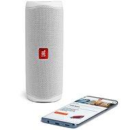 JBL Flip 5 bílý - Bluetooth reproduktor