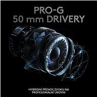 Logitech G PRO X Wireless  Gaming Headset - Bezdrátová sluchátka