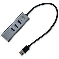 I-TEC USB 3.0 Metal 3-portový s Gigabit Ethernet - USB Hub
